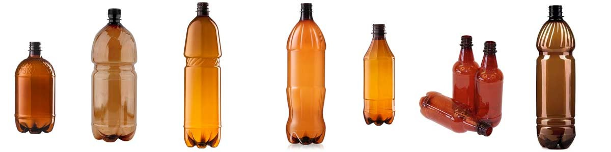 Plastmasas PET pudeles